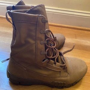 """NIKE SFB JUNGLE 8"""" LEATHER SPECIAL FIELD BOOTS M9"""